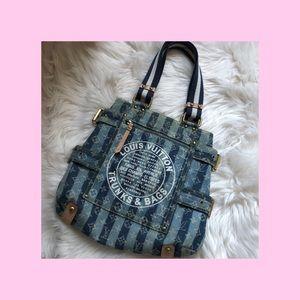 *NOT AUTHENTIC* Vintage Denim Bag